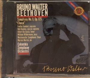 "William Wildermann Ludwig Van Beethoven Bruno Walt Beethoven Symphony No. 9 ""choral"""