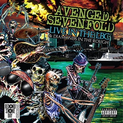 Avenged Sevenfold Live In The Lbc & Diamonds In The Rough Explicit Incl Bonus DVD