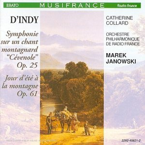 V. D'indy Sym French Mountain Air Jour D Collard*catherine (pno) Janowski Orch Phil Rad Orch Fr