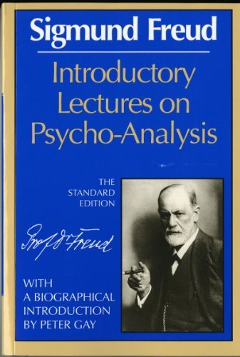 Sigmund Freud Introductory Lectures On Psycho Analysis The Standard