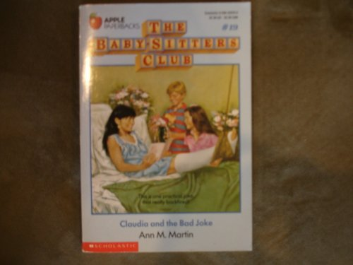 Ann M. Martin Claudia And The Bad Joke (the Baby Sitters Club)