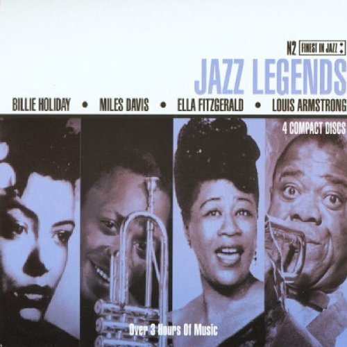 Jazz Legends Jazz Legends Import Eu 4 CD Set