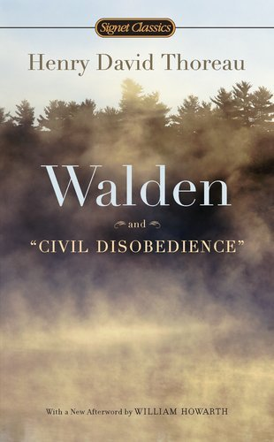 Henry David Thoreau Walden And Civil Disobedience