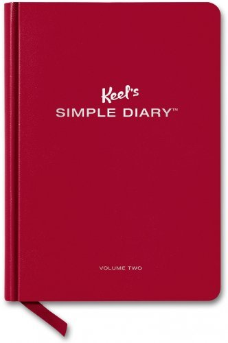 Philipp Keel Keel's Simple Diary Volume Two (dark Red)
