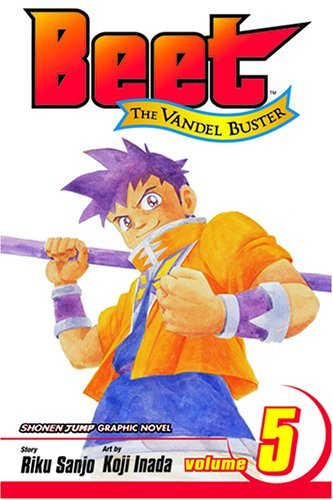 Riku Sanjo Beet The Vandel Buster Vol. 5
