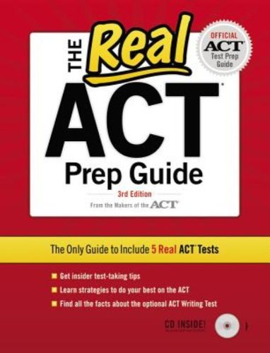 Peterson's The Real Act Prep Guide [with Cdrom] 0003 Edition;