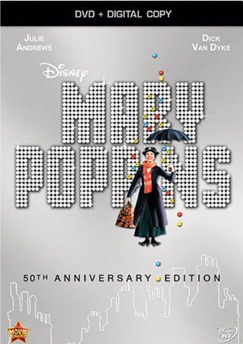 Mary Poppins Andrews Van Dyke DVD Dc G 50th Anniversary Edition