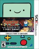 Nintendo 3ds Adventure Time Explore The Dungeon Because I Don't Know Collector's Edition