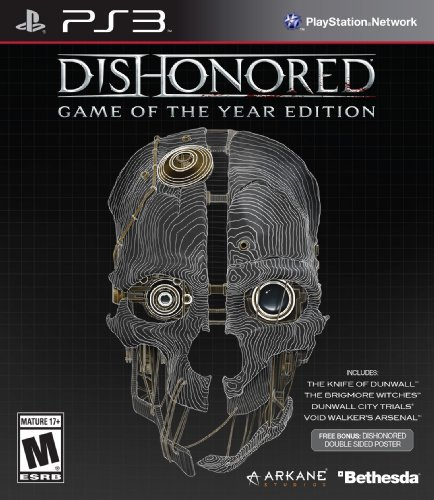 Ps3 Dishonored Goty Edition