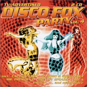 Disco Fox Party Vol. 4 Disco Fox Party 2 CD Set Disco Fox Party