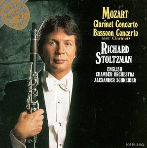 W.A. Mozart Clarinet Concerto Stoltzman*richard (cl) Schneider English Co