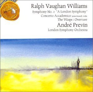 R. Vaughan Williams Symphony No. 2 Buswell*james Oliver (vn) Previn London So