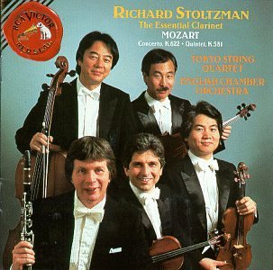 W.A. Mozart Con Cl Qnt Cl Stoltzman*richard (cl) Schneider English Co