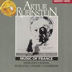 Rubinstein Artur Music Of France
