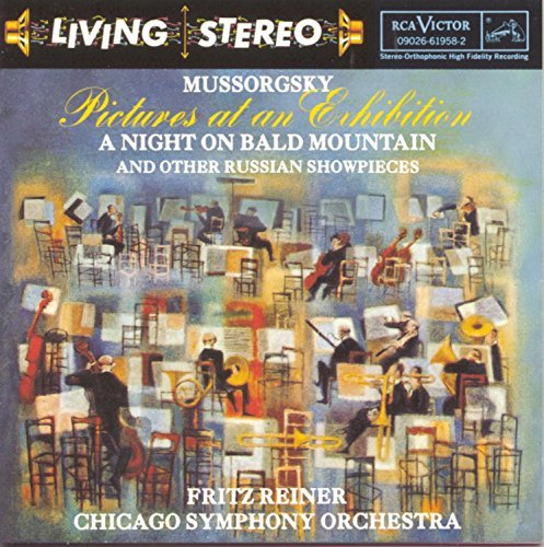 M. Mussorgsky Pictures Bald Mtn Reiner Chicago So