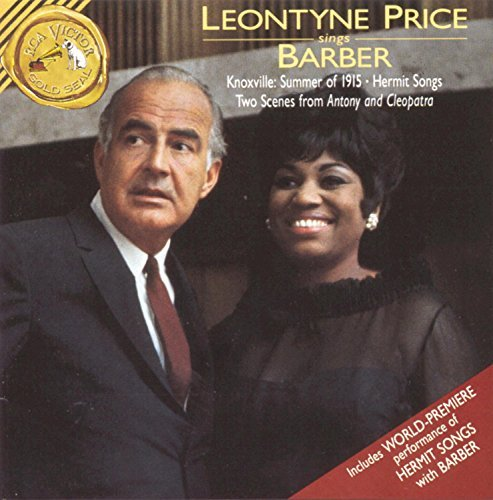 Leontyne Price Sings Barber Price (sop) Barber (pno) Schippers New Phil Orc