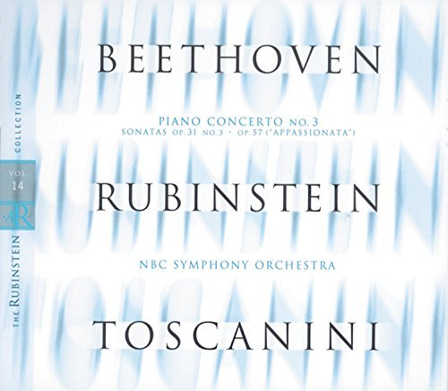 Artur Rubinstein Collection Vol. 14 Beethoven Rubinstein (pno) Toscanini Nbc So