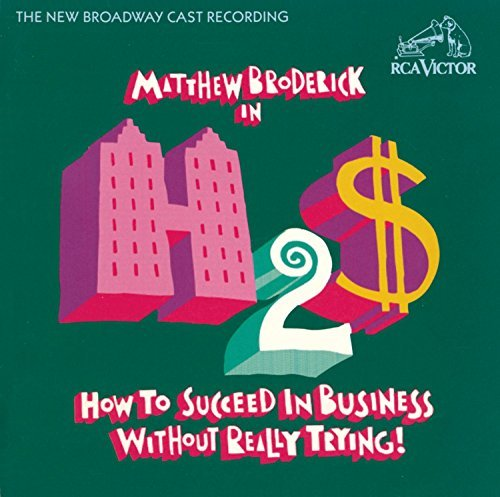 How To Succeed In Business New Broadway Cast Recording