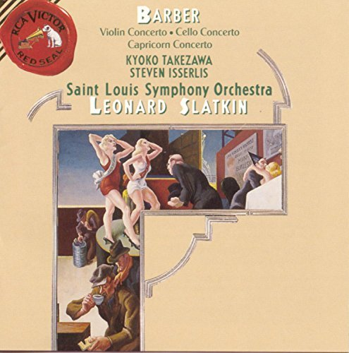 S. Barber/Concertos@Isserlis (Vc)/Takezawa (Vn)@Slatkin/St. Louis So