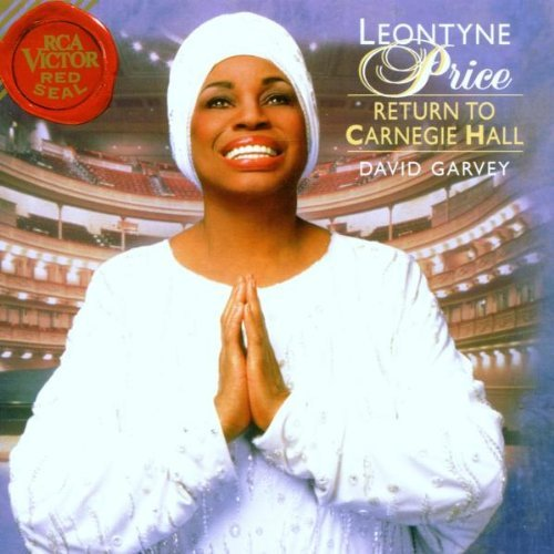 Leontyne Price Return To Carnegie Hall