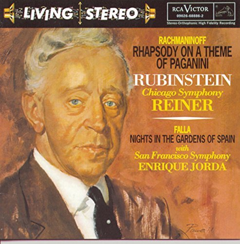Artur Rubinstein Plays Rachmaninoff Falla Chopi Remastered