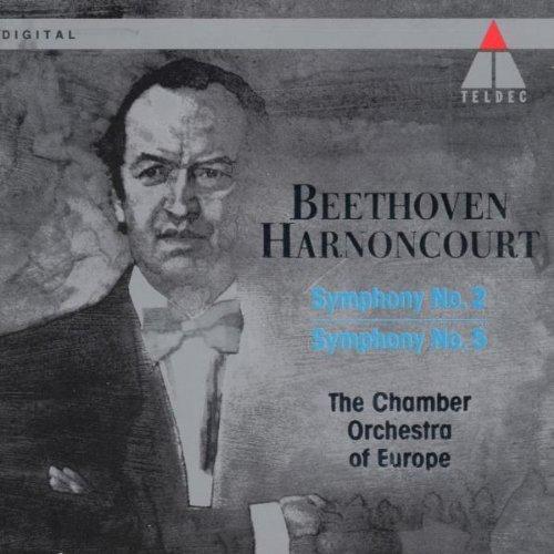 L.V. Beethoven/Sym 2/5@Harnoncourt/Co Of Europ
