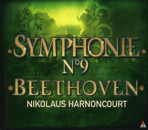 L.V. Beethoven Sym 9 Choral Margiono Remmert Schasching + Harnoncourt Co Of Europ