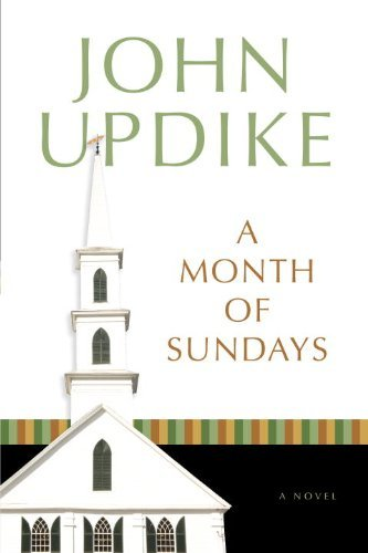 John Updike A Month Of Sundays