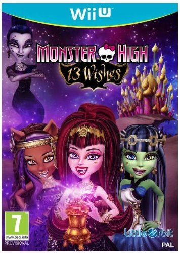 Wii U Monster High 13 Wishes