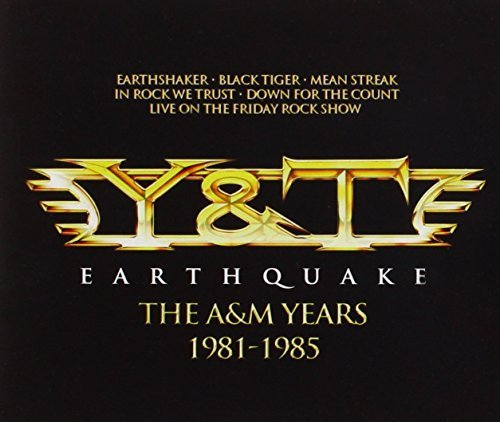 Y & T Earthquake A&m Years [box Set Import Eu