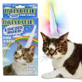 Gift Unicorn Horn Inflatable For Cats