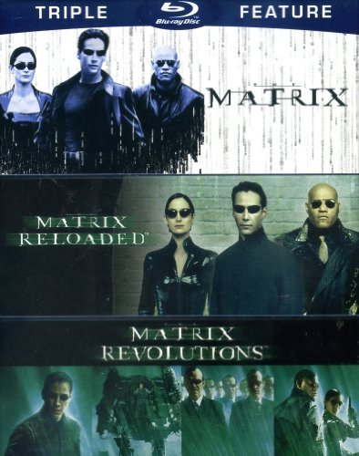 Keanu Reeves Matrix Triple Feature The Matrix The Matrix Re