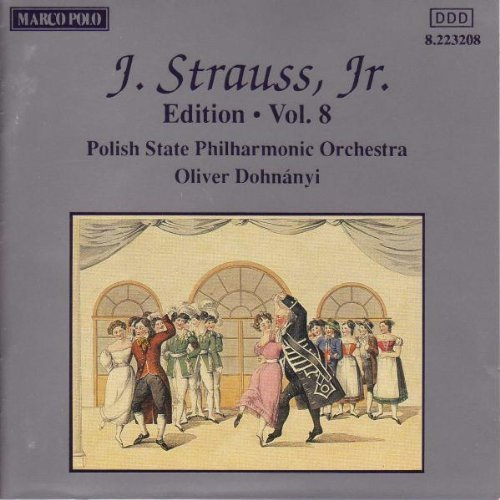 J. Strauss Jr. Edition Vol. 8