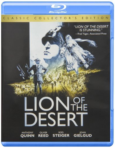 Lion Of The Desert Quinn Papas Gielgud Reed Vallo Blu Ray Ws Pg