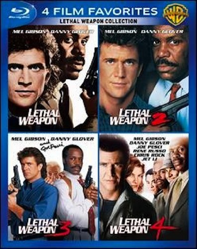 4 Film Favorites Lethal Weapo 4 Film Favorites Lethal Weapo Blu Ray Ws Pg13 4 Br