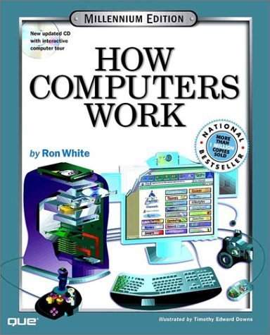 Adams Stephen Downs Timothy Edward White Ron How Computers Work With Cdrom (how Computers Work