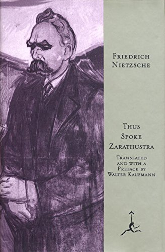 Friedrich Wilhelm Nietzsche Thus Spoke Zarathustra A Book For All And None Revised