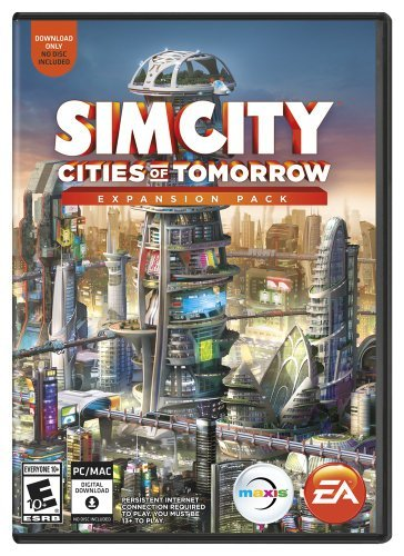 Pc Games Simcity Cities Of Tomorrow Electronic Arts T