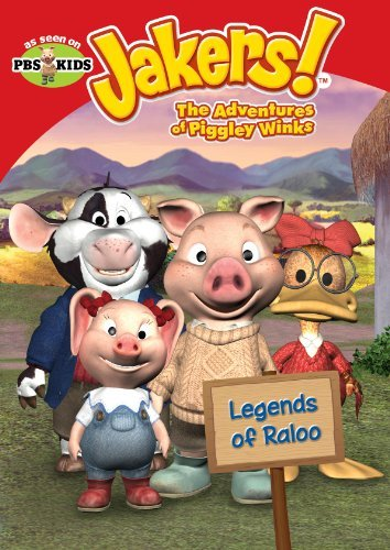Jakers The Adventures Of Piggley Winks Legends Of Raloo Tvy Fs