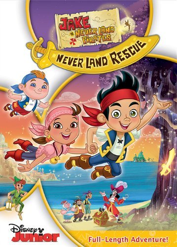 Jake & The Never Land Pirates Never Land Rescue Includes Sword Stickers Ws