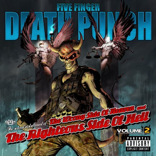 Five Finger Death Punch Vol. 2 Wrong Side Of Heaven & The Righteous Side Of Hell Explicit Version CD DVD
