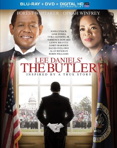 Lee Daniels' The Butler Whitaker Winfrey Howard Blu Ray DVD Uv Pg13 Ws
