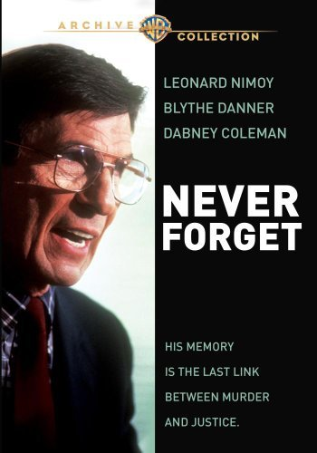 Never Forget Nimoy Danner Coleman DVD Mod This Item Is Made On Demand Could Take 2 3 Weeks For Delivery