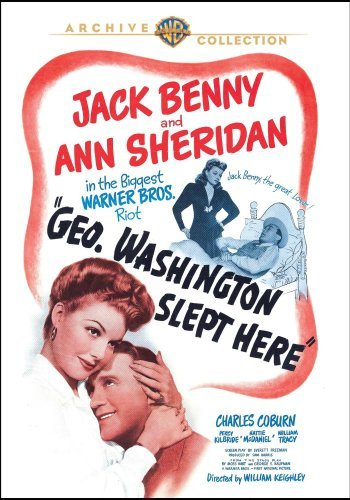 George Washington Slept Here George Washington Slept Here DVD Mod This Item Is Made On Demand Could Take 2 3 Weeks For Delivery