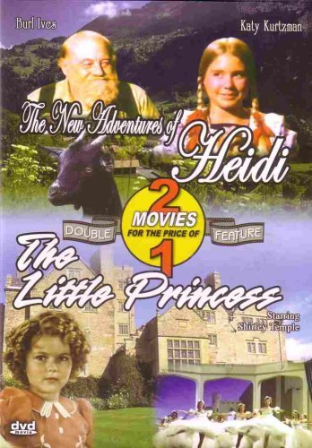 Burl Ives; Shirley Temple The New Adventures Of Heidi The Little Princess