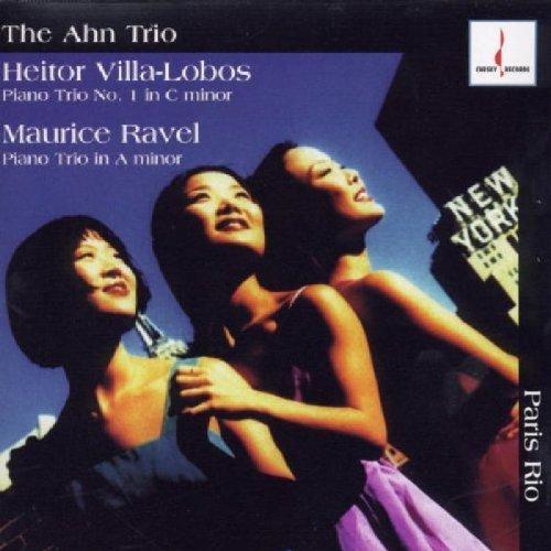 Villa-Lobos/Ravel/Paris Rio@Ahn Trio