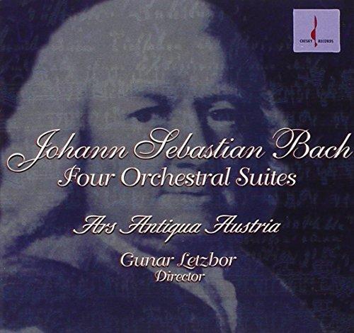 Johann Sebastian Bach/Bach-Four Orchestral Suites@Letzbor/Ars Antiqua Austria