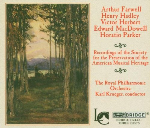 American Orchestral Masterpiec American Orchestral Masterpiec Macdowell Parker Herbert &