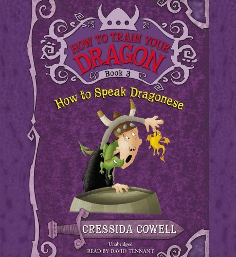 Cressida Cowell How To Train Your Dragon How To Speak Dragonese
