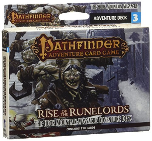 Mike Selinker Pathfinder Adventure Card Game Rise Of The Runelords Deck 3 The Hook Mountain